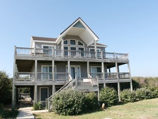 Special 5/28 is $2500 'Park Place' SemiOceanfront 7 BR, Pool, Hot Tub, Sleeps 20