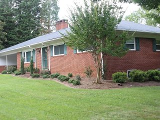 Great home close to all Greensboro & High Point Golf/Aquatics/Convention Center
