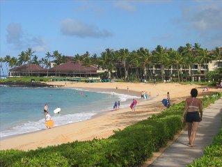Kiahuna Plantation Resort on Poipu Beach! Pool/Fitness Center Included!