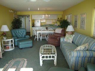 Oceanfront 2nd Floor Corner Unit with Private Beach Access