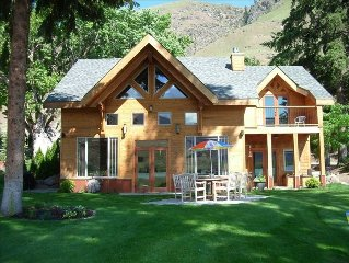 Lakeside Timber Frame Home on Columbia River,Lake Entiat