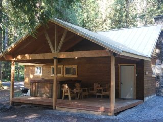 Sequoia Vacation Cabin -  Fireplace - Wildlife - No Cleaning fee