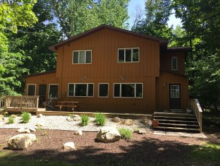 Perfect Family Retreat – Steps to Portage Lake, Minutes to Lake Michigan Beaches