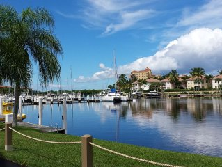 Burnt Store Marina, First Floor Condo With View Of Marina, Close To Restaurants