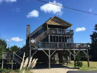 Sleeps 8, Family Friendly, Convenient Avon Location on Hatteras Island