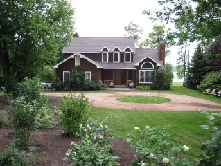 Paradise - Beautiful Beachfront Home On Crystal Lake!-June 24 -July1 available!