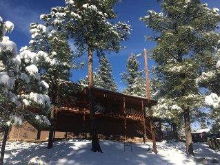 Cozy Ruidoso Cabin Near Skiing, Hiking, Golf, Casinos And Shopping