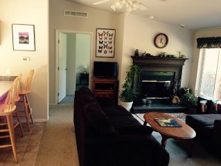 Hidden Springs Vacation Rental -- 3 bed 2 bath, private, sunny mountain view