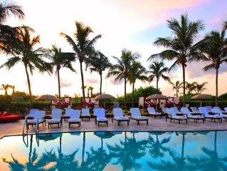 AAA-4 Diamond Hilton Bentley Beach, Balcony! South Beach!  Sofi! Ocean Front