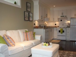 Elegant Cottage Style Suite in Upscale Home in heart of Cambie Village