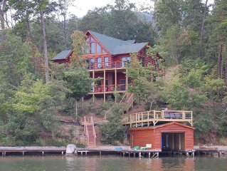 Amazing Lake Front Log Cabin - New Construction home completed 2014
