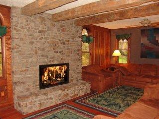 Amazing Home on Yough River ; Near Bike Trail, Rafting, Hiking, Skiing
