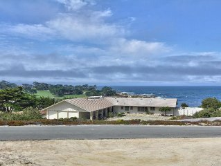 Pebble beach ocean front, next to Cypress point  and Spyglass hills golf course