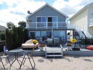 Beachfront Home On Lake Ontario W/60 ft Of Private Beach