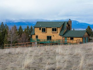 Luxurious & private 40 acre Montana mountain estate with breathtaking views
