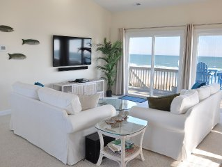 'Captain Andy's' Beachfront Family Vacation Perfection