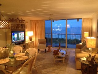 King & Price Resort Oceanfront Beachfront Condo- Close as It Gets to the Beach!!