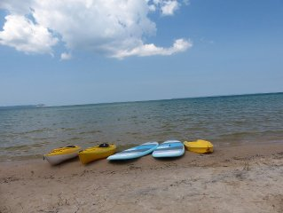 Kayaks and Stand-up Paddle Boards