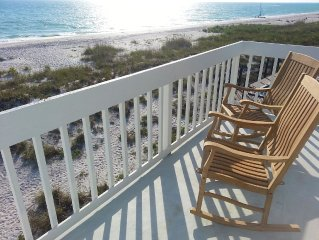 Direct Gulf Front! Amazing sunsets and pristine beaches-old Florida at its best!