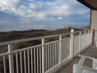 Oceanfront 4 Bedroom Corner Condo - Prime Views!