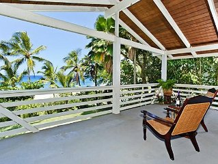 Rest and Restore-Oceanfront Home on KeIki Beach