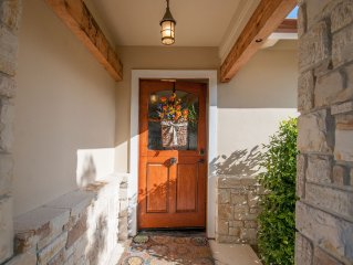 Charming Beach Cottage on Carmel Point!  Fully renovated; walk to beach and town