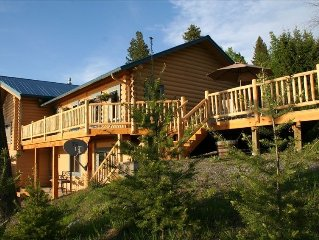 Flathead Lake - Bigfork Log Cabin Spectacular View Apartment