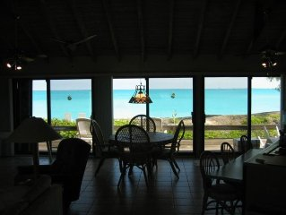Private Oceanfront Home on Tar Bay with Beautiful Private Beach