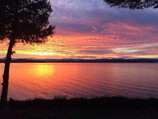 Burlington Lakefront Home. 4 BR. Lake Champlain & Adirondack Mountain Views!