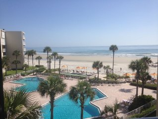 2BR/2BA Direct Oceanfront with breathtaking views!! w/ washer& dryer in unit.