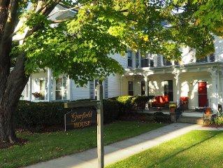 Elegant 19th Century New England Newly Renovated 1BR Vacation Rental