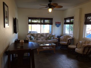 1 BR Suite - Sunset Beach - 1 min walk to sand - 2 LED TV's - Brand New Rental