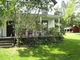 Wonderful 100 Year Old House in Spectacular Country Hamlet