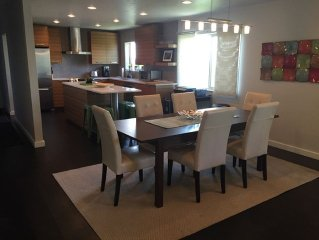 Modern 5Br Salt Lake City House w/easy access to Wasatch Mountains and downtown.