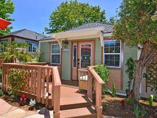 Beacons Cottage at Villagio Carlsbad Cottages – 1 of 7 homes steps to beach