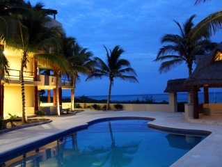Ocean Front Condo With Private Pool