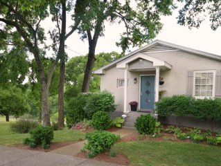 Artful Lodger on the Park: Trendy East Nashville-Overlooks Park-Next to Downtown
