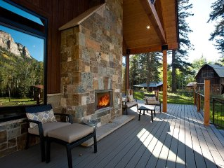 Luxury, Rustic Mountain Estate Close to Purgatory Ski Area