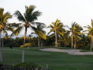 Golf Villa with Ocean View! Reduced Rates & Green Fees!