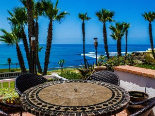 Available Tonight 10/21! Club Marena 2 Story Oceanfront Villa, See Surf from Bed
