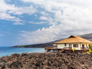 Gorgeous, Oceanfront, Luxury Vacation Home; Private and Serene, not Touristy