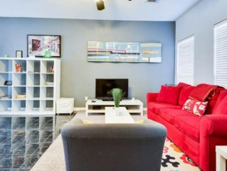 Stunning Modern Home in the Heart of Downtown San Antonio (CORPORATE/VACATION)