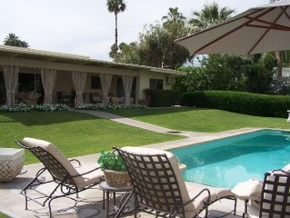 Stunning Private Home On 1/2 Acre Property Close To El Paseo