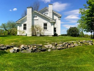 W. Stockbridge Farmhouse with Sweeping Views + Modern updates, family Friendly!