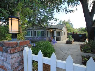 Wine Country 2 bedroom Cottage (with Optional 1 bedroom Guest House)