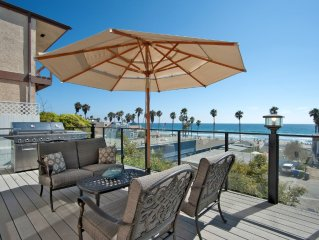 *April & May Reduced Rates **Upscale Front Ocean View Home - Sleeps 12!