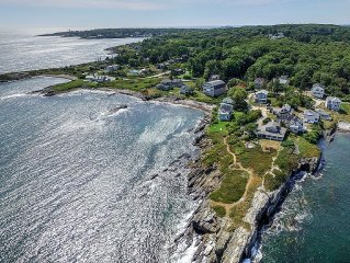 Atlantic Ocean Views, Private Beach. Newly Built Home Close To Portland, Maine!