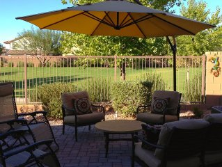 Beautiful & Comfortable Single Story Home on a very Peaceful & Splendid View Lot