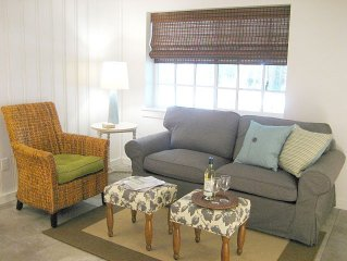 Monarch Suite, a new, 1 bedroom suite with kitchen at a small beachfront resort