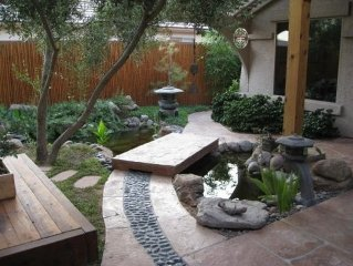 Casita With Zen Garden Courtyard